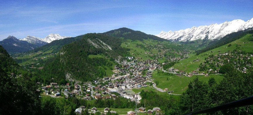 Summer like winter, welcome to La Clusaz