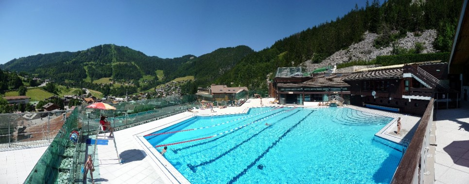Aquatic area Clusaz